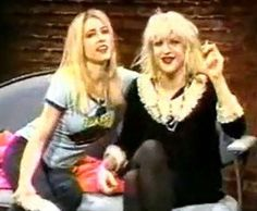 with Kim Gordon on MTV's 120 Minutes in 1992 #hole