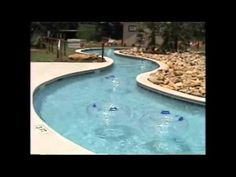 Lazy River designs have possibilities that are endless in a surprisingly small space. The Riverflow ® system used to power large resort lazy rivers… Backyard Lazy River, Lazy River Pool, Swimming Pool House, Swimming Pools, Lap Pools, Jacuzzi Outdoor, Backyard Pool Designs, Small Pools, Dream Pools