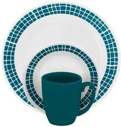 Corelle Livingware 32 Piece Dinnerware Service for 8 New Free SHIP | eBay