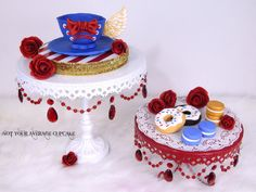 American Beauty Tea Glam - Cake by Sharon A.