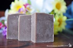 Cold Process - Dirt Soap Recipe (Patchouli, cedarwood, sage & vetiver scented. Use a lye calculator to determine how much lye and distilled water you'll need.)