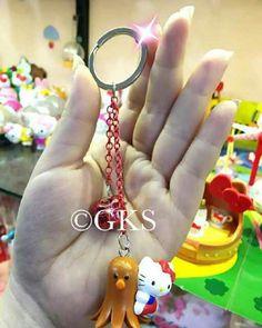 #gantungan #kunci #kerincing #hellokitty #cumi @ 25.000