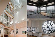 Brooklyn clocktower penthouse.