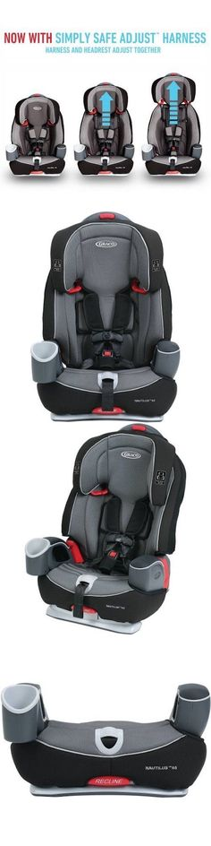 Convertible Car Seat 5-40lbs 66695: Graco Nautilus 65 3-In-1 Harness Booster Car Seat, Bravo -> BUY IT NOW ONLY: $152.49 on eBay!