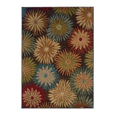 I pinned this Georgina Rug in Multi from the Oak Orchard Studios event at Joss and Main!