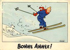 Carte++neige+Tintin+Bonne+annee+4.jpg 779 × 567 pixels