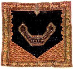Antique Senneh Rugs: Senneh Saddle Cover, 2nd quarter 19th century Lot 83