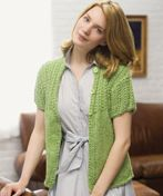 LM0313 Knit Anytime Cardigan free pattern