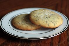 Lavender cookies...because lavender helps relieve stress, and so do cookies.