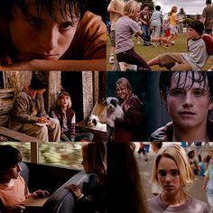 love this movie Brücke Nach Terabithia, Bridge To Terabithia, Annasophia Robb, Logan Lerman, Josh Hutcherson, In My Feelings, Live Action, Hunger Games, Movie Stars