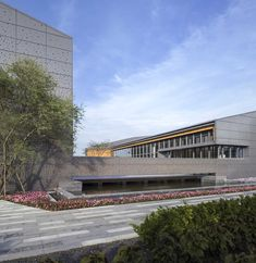 The phase of Wuxi Yangshan rural life complex project that is known as 'Oriental Garden' is located in the peach town of China, Yangshan, Huishan, Wuxi, Sales Center, China, Modern Architecture, Facade, Mansions, House Styles, Gallery, Photography