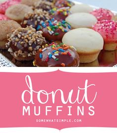 Recipe - Donut muffins... Ummm Yes please!