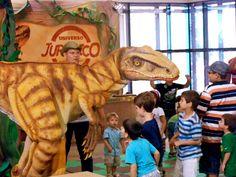 Entre os dias 9 e 27 de janeiro,as crianças podem realizar uma viagem de cerca de sessenta e cinco milhões de anos atrás, para a Era dos Dinossauros. A atração no Shopping Ibirapuera traz um professor que guiará os visitantes através do universo da paleontologia. A entrada é Catraca Livre.