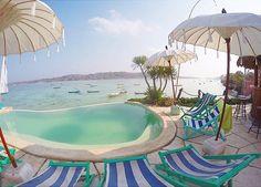 Nusa Ceningan view, pinned from Bali Je t'aime Villas - Google+ Lembongan Island, Nusa Ceningan, Extreme Sports, Where To Go, Villas, Diving, Bali, Surfing, Spa
