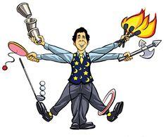 """Daniel DaVinci """"The Juggling Genius"""""""