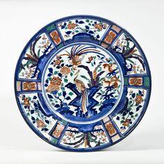An Imari porcelain charger Circa 1700, Japan