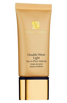 Estee Lauder 'Double Wear Light' Stay-in-Place Makeup in Intensity 1. Really does feel light and stays in place all day!