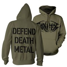 Death Metal, Metal Shirts, Pullover Hoodie, Band Merch, Hoodies, Sweatshirts, Sweaters, Style, Fashion