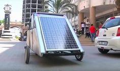 Estudiantes de Gaza diseñan un coche solar para luchar contra la escasez de combustible.