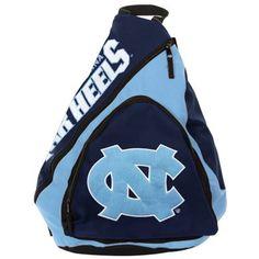 North Carolina Tar Heels (UNC) Slingback Backpack - Navy Blue/Carolina Blue