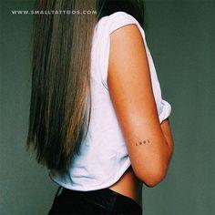 1991 Birth Year Temporary Tattoo (Set of – Small Tattoos Tigh Tattoo, Hawaiianisches Tattoo, Tattoo Trend, Tattoo Set, Piercing Tattoo, Get A Tattoo, Piercings, Tattoo Ideas, First Tattoo