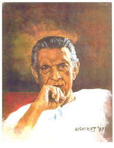 Satyajit Ray -director, producer, screenwriter, musical director and lyricist
