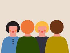 Una serie di illustrazioni create per Cir, un centro di assistenza sanitaria privata nei Paesi Bassi.