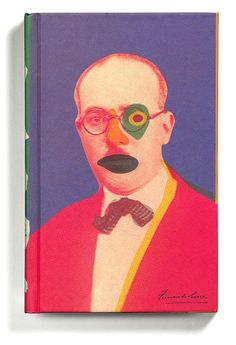 """The Book of Disquiet"" by Fernando Pessoa (New Directions) / Designed by Peter Mendelsund"