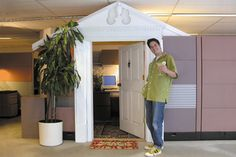 """""""How to Upgrade your Cubicle (and Your Career)"""" by Keith Pandolfi, This Old House online   (this is too funny!)"""