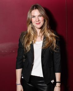 Picture of Lily Rabe American Horror Story Characters, Ahs Characters, Pictures Of Lily, Leather Pants, Actresses, Celebrities, Hair Styles, Women, Fashion