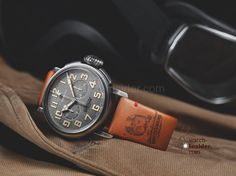 Only five special editions of the Pilot Ton-Up watch have been created by Zenith