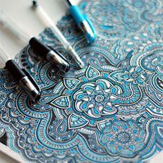 intricate-pen-drawing-floral-pattern-mikiverevikim-thumb290.jpg (290×290)