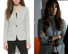 Spencer's Rag & Bone blazer she wore in 7x04 'Hit and Run, Run, Run' is now sold out in her exact grey colour, but available in white below or HERE and HERE, Orange HERE and HERE, Burgundy HERE or Black HERE. Rag & Bone 'Archer Blazer' -...