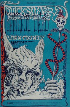 Quicksilver Messenger Service Poster - Rock posters, concert posters, and vintage posters from the Fillmore, Fillmore East, Winterland, Grande Ballroom, Armadillo World Headquarters, The Ark, The Bank, Kaleidoscope Club, Shrine Auditorium and Avalon Ballroom.