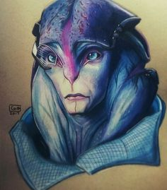 """pear-glace19: """"Finally finished my drawing of Jaal """""""