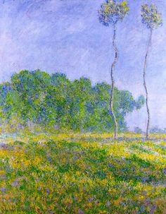 Spring Landscape ~ Claude Monet