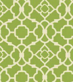 Home Decor Fabric-Waverly Lovely Lattice Jungle at Joann.com