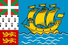 Flag of Saint-Pierre and Miquelon - Saint Pierre and Miquelon - Wikipedia, the free encyclopedia