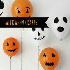 globos de halloween para niños