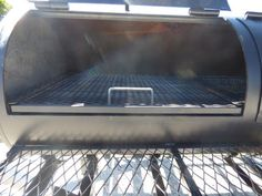 Smoker Trailer Wood x Charcoal Pit Wood Cage BBQ Cooker – Famous Last Words Bbq Smoker Trailer, Trailer Smokers, Homemade Smoker, Bbq Pitmasters, Food Truck Design, Keep Food Warm, Grilling Tips, Coffee Signs, Smoking Meat