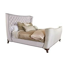 Gabriella King Bed from the Henredon Upholstery collection by Henredon Furniture