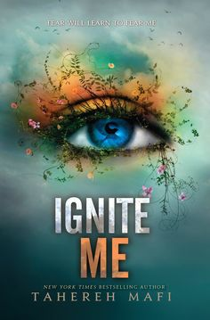 Ignite Me, by Tahereh Mafi... Its just amazing. Im speechless. This is my absolute favorite book in the series and my absolute favorite book in the world! Yeah its that good.