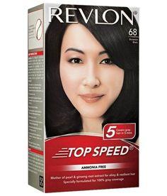 Revlon Brownish Black 68 Top Speed Hair Color 95 ml