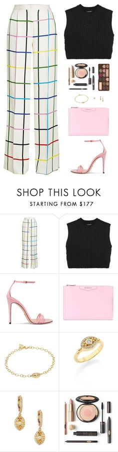 """Sin título #4876"" by mdmsb on Polyvore featuring moda, Mary Katrantzou, Neil Barrett, Gucci, Givenchy, Temple St. Clair y Too Faced Cosmetics"