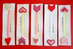 Glow Stick Valentines DIY No Candy Valentines!