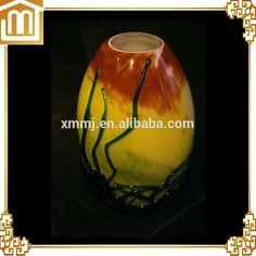 murano glass vase Large Glass Vase, Murano Glass Vase, Glass Chandelier, Glass Art, Creative Arts And Crafts, Ceramics, Shapes, Unique, Handmade