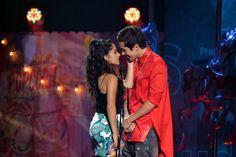 Austin Mahone and Becky G almost KISS at Premios Juventud
