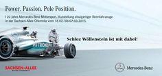 Erleben Sie einen Streifzug durch 120 Jahre Mercedes Motorsportgeschichte. https://www.swmb.de/angebote-aktionen-news/details/120-jahre-mercedes-benz-motorsport-in-der-sachsen-allee-chemnitz.html #Fahrsimulator #Rennautos #Mercedes #SachsenAllee #Chemnitz #SchlozWöllenstein #Fotowand #Autogrammstunde #BerndMayländer