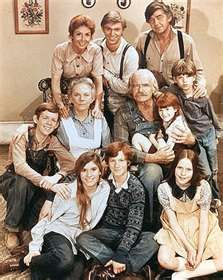The Waltons an US TV series created by Earl Hamner Jr based on his book Spencer's Mountain and a 1963 film of the same name. The show centred on a family in a rural Virginia community during the Great Depression and WW II. The pilot aired as a movie The Homecoming: A Christmas Story in 1971. Richard Thomas, Ralph Waite, Michael Learned, Ellen Corby, Will Geer, Judy Norton, Jon Walmsley, Mary Elizabeth McDonough, Eric Scott, David W Harper,   Kami Cotler, Peggy Rea