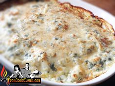 How to make healthy, low calorie, low fat spinach and artichoke dip